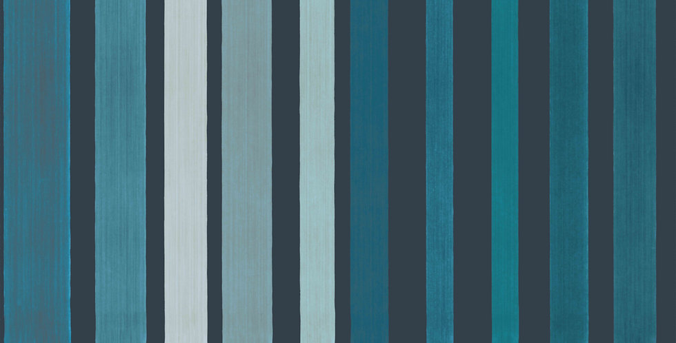 Cole & Son - Marquee Stripes Carousel Stripe Blue 110/9042
