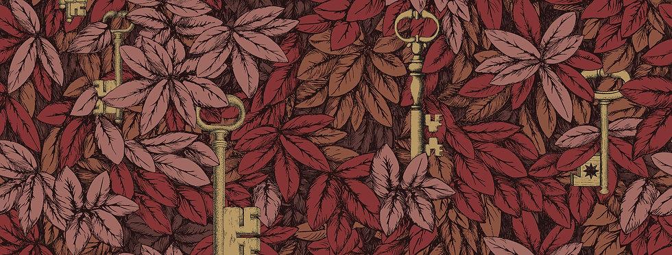 Cole & Son - Fornasetti Senza Tempo Chiavi Segrete Autumnal Leaves 114/9019