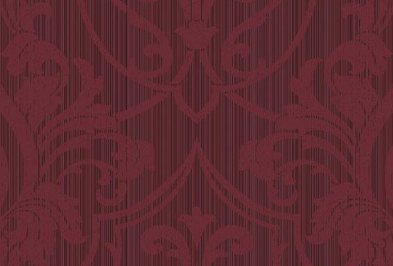 Cole & Son - Archive Traditional Petersburg Damask Purple & Red 88/8035