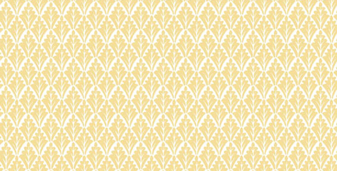 Cole & Son - Archive Traditional Lee Priory Yellow & White 88/6023
