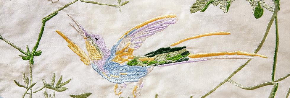 Cole & Son - The Contemp Coll Fabrics Hummingbirds Bright Multi F111/1002