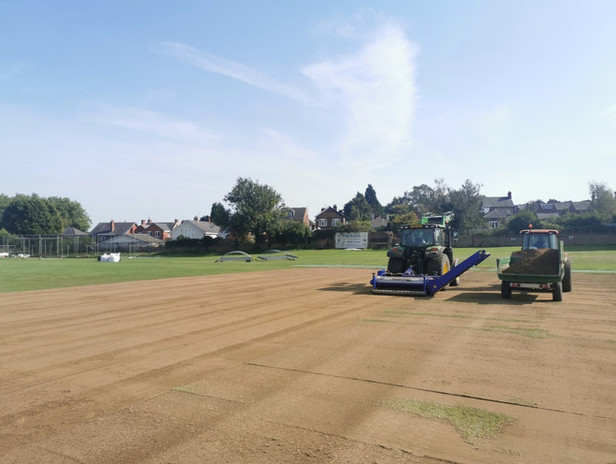 Sports Pitch Maintenance and Renovation