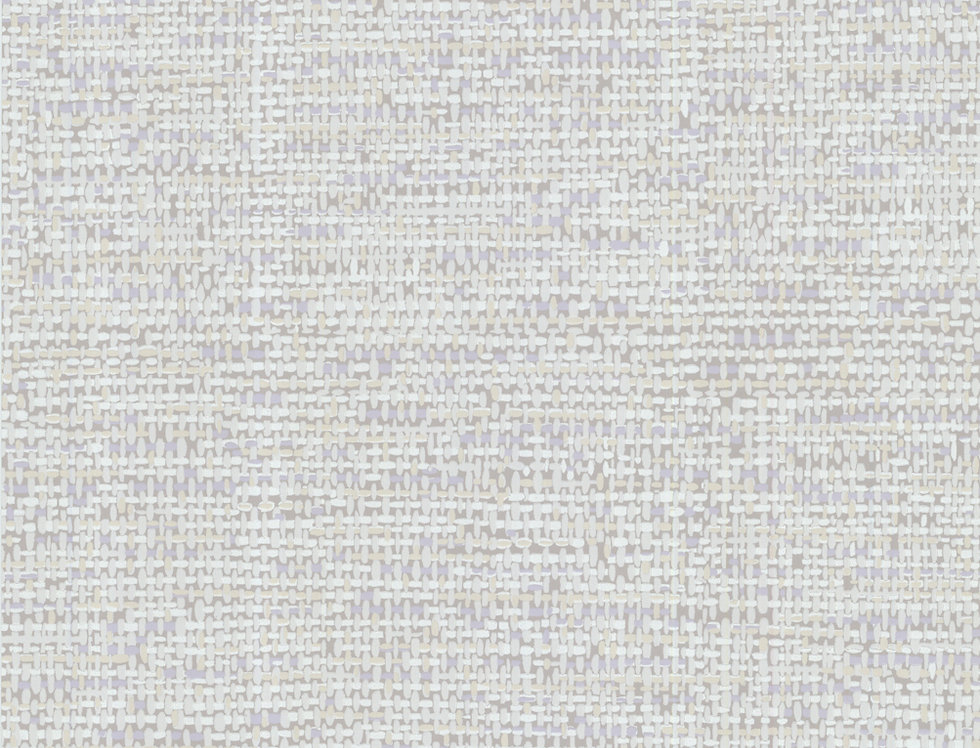 Cole & Son - Foundation Tweed Neutral & Lilac 92/4015