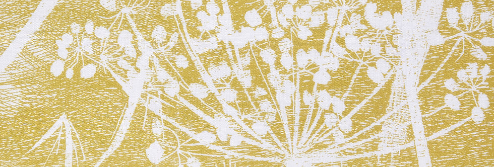 Cole & Son - The Contemp Coll Fabrics Cow Parsley White & Chartreuse F111/5020