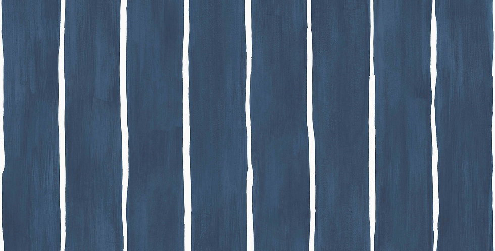 Cole & Son - Marquee Stripes Marquee Stripe Ink 110/2007
