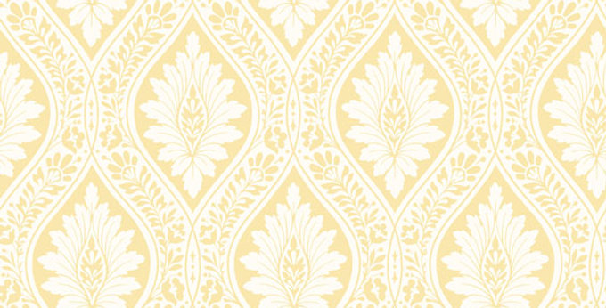 Cole & Son - Archive Traditional Florence White & Ochre 88/9039