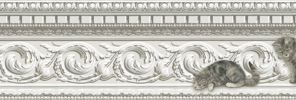 Cole & Son - Whimsical Paddy & Louis Border Natural 103/6025