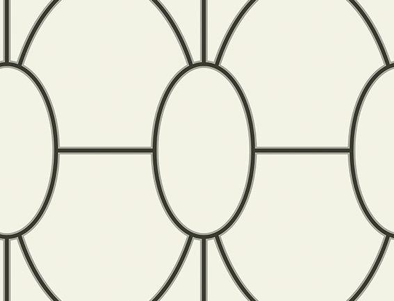 Cole & Son - Geometric II Riviera Black & White 105/6026