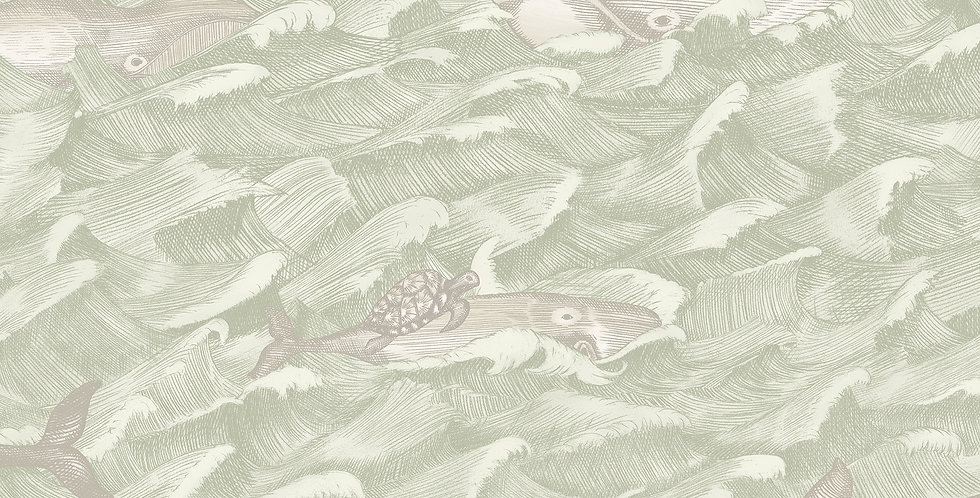 Cole & Son - Whimsical Melville Green 103/1001