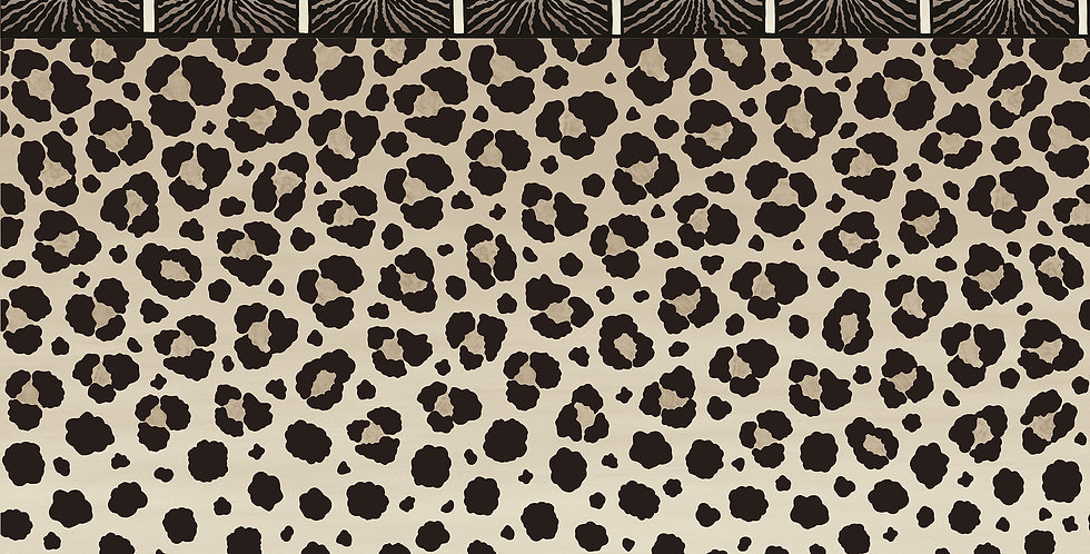 Cole & Son - Ardmore Zulu Border Black + White 109/13061