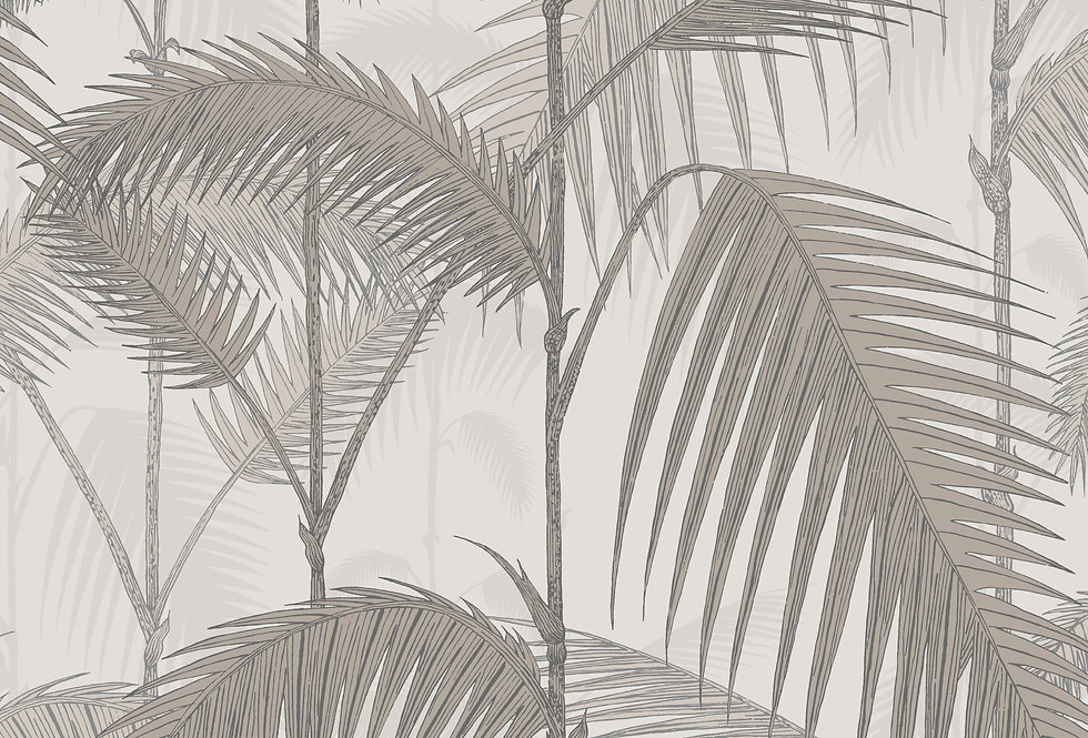 Cole & Son - Icons Palm Jungle Stone & Taupe 112/1004