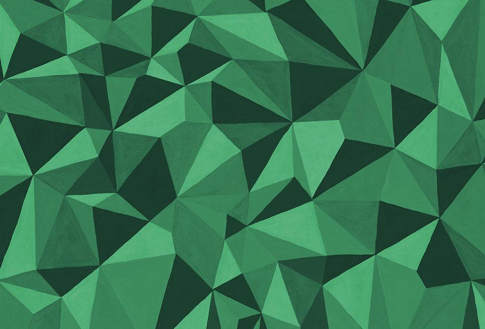 Cole & Son - Curio Quartz Emerald 107/8039
