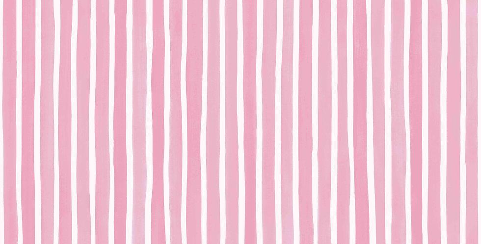 Cole & Son - Marquee Stripes Croquet Stripe Soft Pink 110/5029