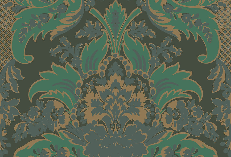 Cole & Son - Mariinsky Damask Giselle Leaf Green 108/5028