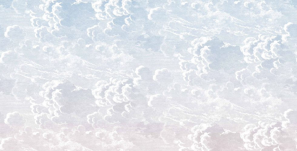 Cole & Son - Fornasetti Nuvole al Tramonto Dusk (pink) 114/3007