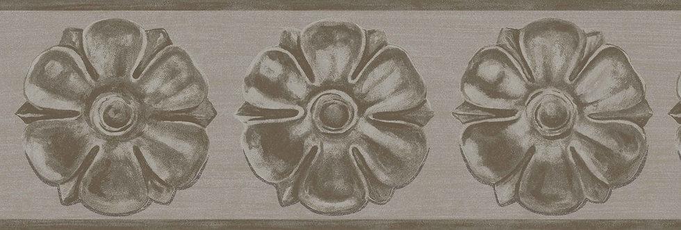 Cole & Son - HRP Tudor Rose Border Gilver 98/4016