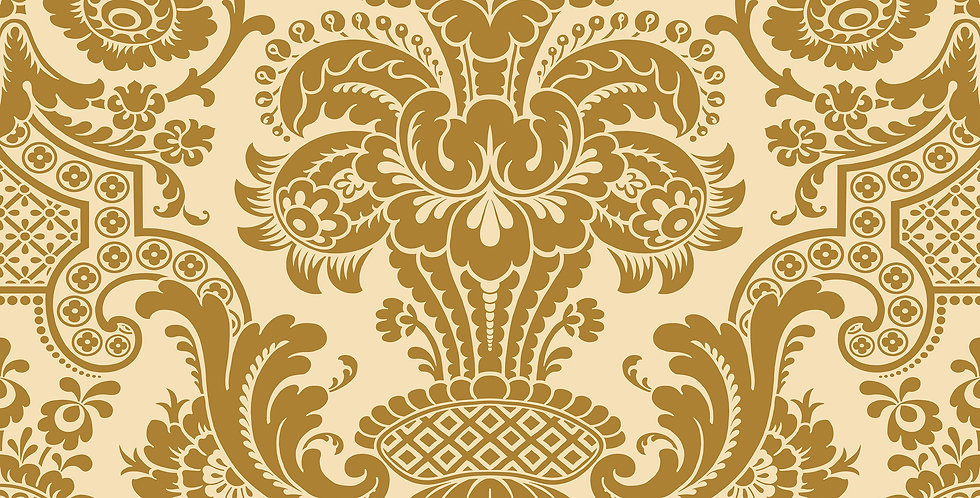 Cole & Son - Mariinsky Damask Carmen Gold 108/2007