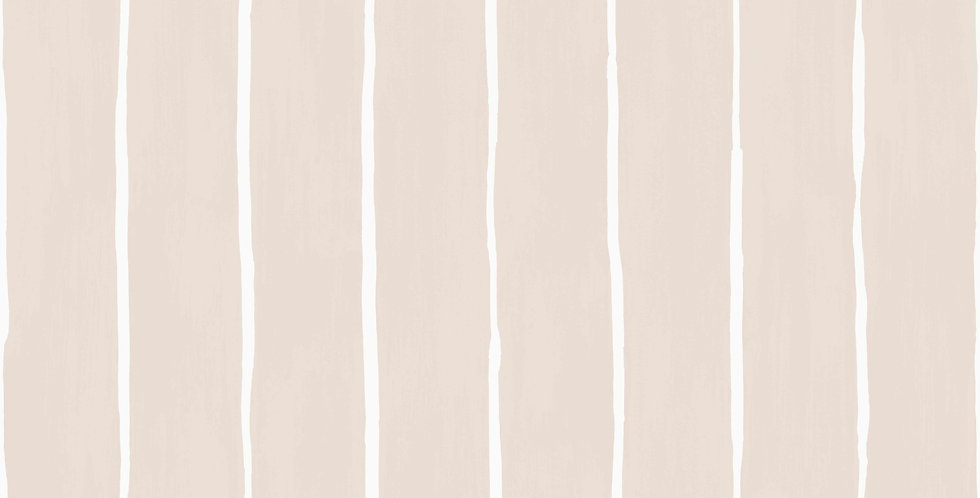 Cole & Son - Marquee Stripes Marquee Stripe Soft Pink 110/2012