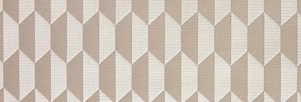 Cole & Son - The Contemp Coll Fabrics Tile Jacquard Cream & Oat F111/9033