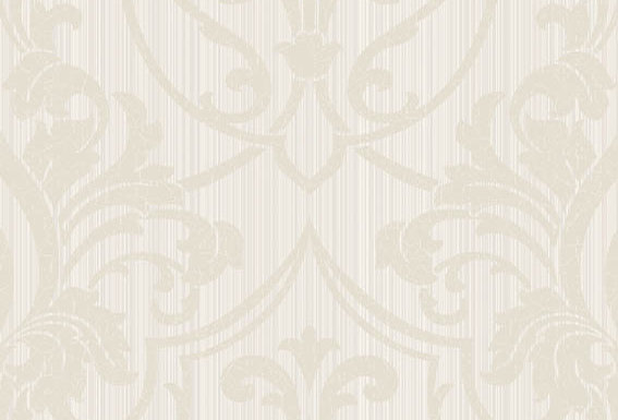 Cole & Son - Archive Traditional Petersburg Damask White & Biscuit 88/8036