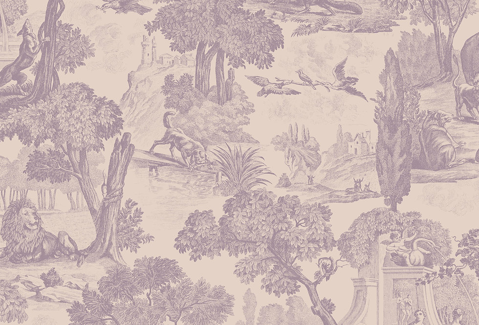 Cole & Son - Folie Versailles Mulberry 99/15062