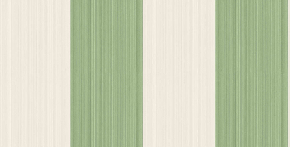 Cole & Son - Marquee Stripes Jaspe Stripe Green 110/4022