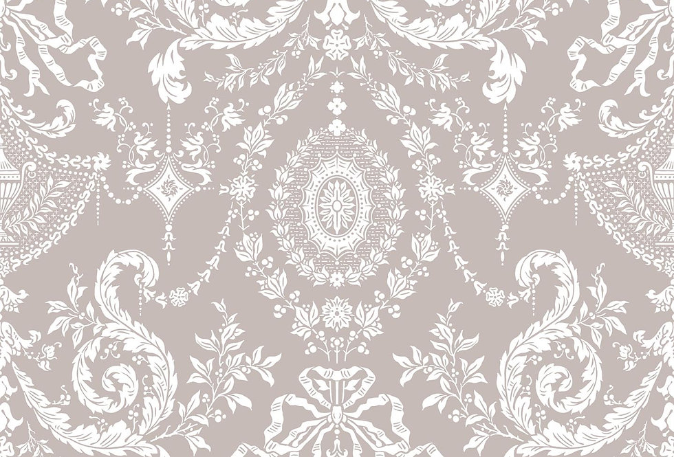 Cole & Son - Archive Traditional Woolverston Grey Taupe & White 88/10042