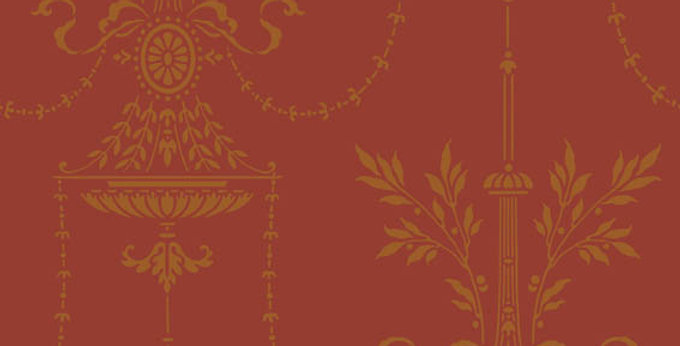 Cole & Son - Archive Traditional Dorset Red 88/7029