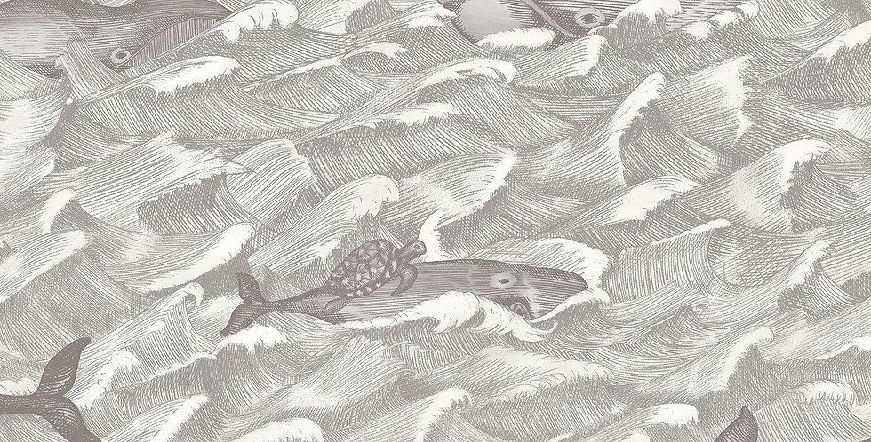 Cole & Son - Whimsical Melville Soft Black & White 103/1004