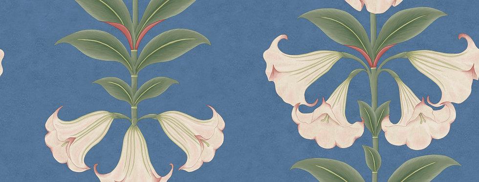 Cole & Son - Seville Angel's Trumpet Ballet Slipper & Sage on Sky 117/3008