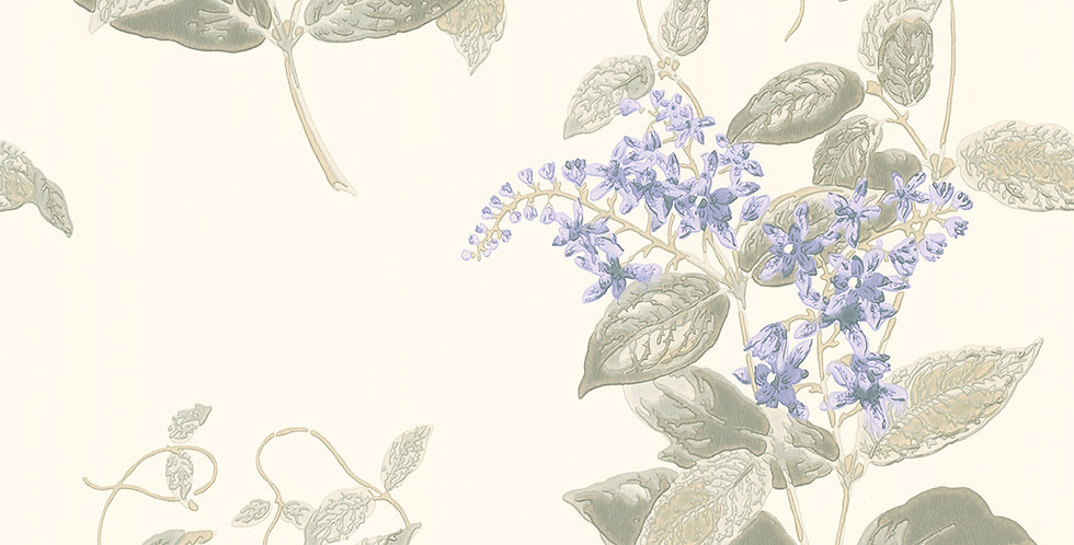 Cole & Son - Archive Anthology Madras Violet Violet & Grey 100/12057