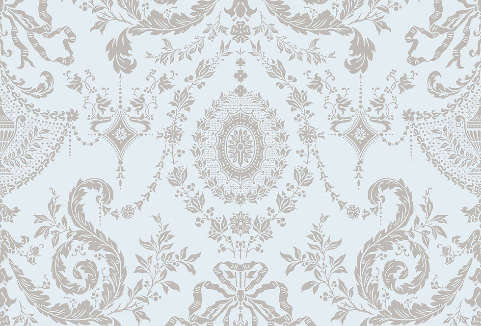 Cole & Son - Archive Traditional Woolverston Water & Pale Gold 88/10041