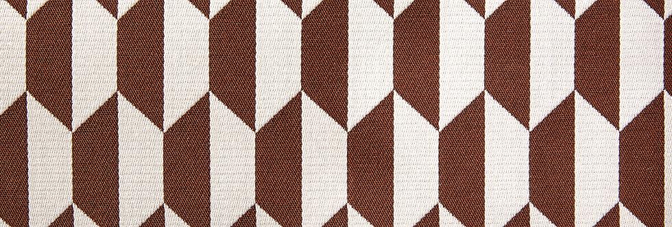Cole & Son - The Contemp Coll Fabrics Tile Jacquard Ginger & Cream F111/9035