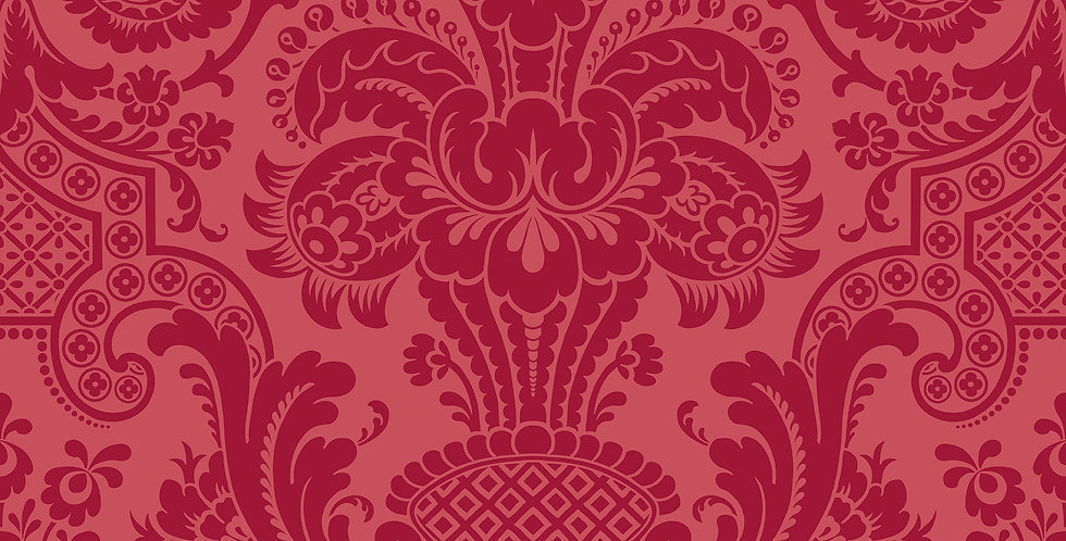 Cole & Son - Mariinsky Damask Petrouchka Red 108/3014