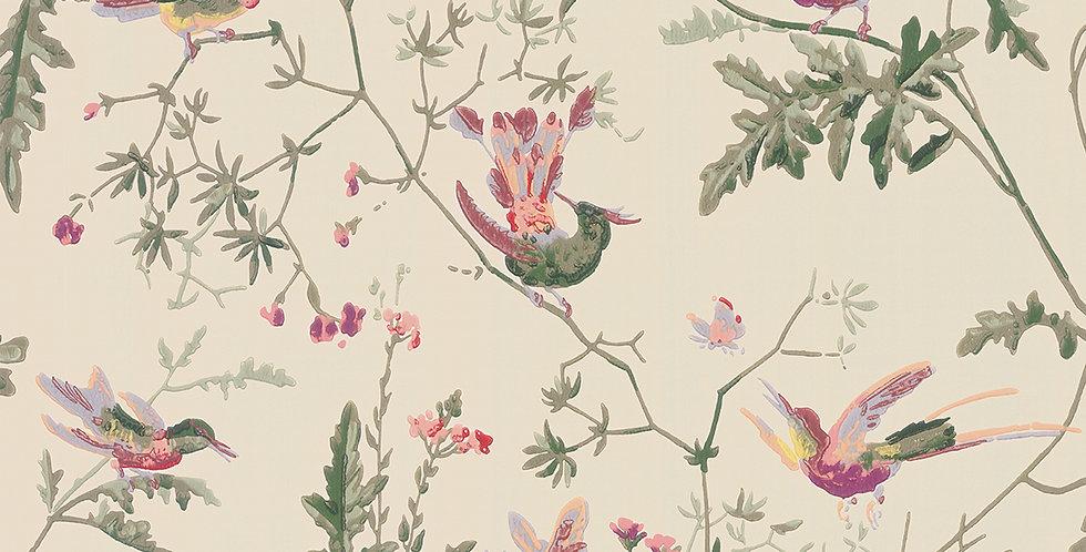 Cole & Son - Archive Anthology Hummingbirds Original Multi-Colour 100/14071