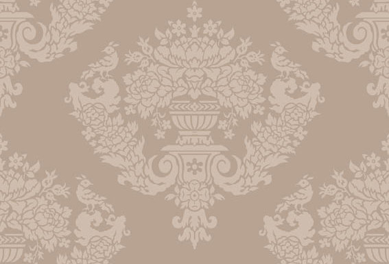 Cole & Son - Archive Traditional Sudbury Grey Gold  88/12049
