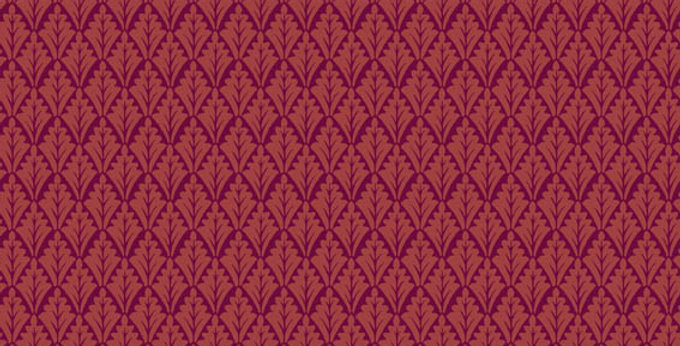 Cole & Son - Archive Traditional Lee Priory Claret 88/6025