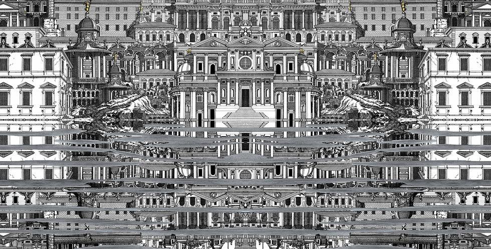 Cole & Son - Fornasetti Senza Tempo Riflesso Black & White 114/20040