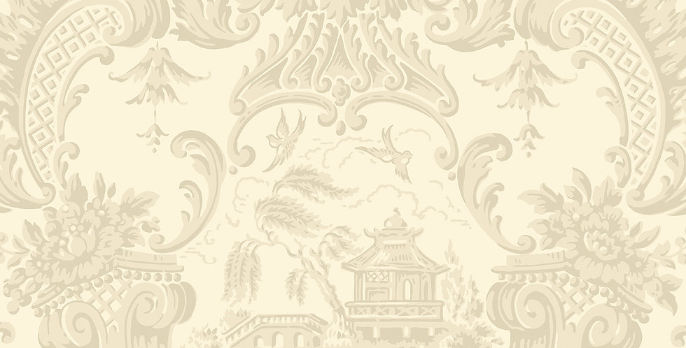 Cole & Son - Archive Anthology Chippendale China Stone 100/3011
