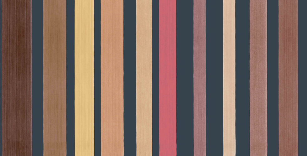 Cole & Son - Marquee Stripes Carousel Stripe Pink 110/9044