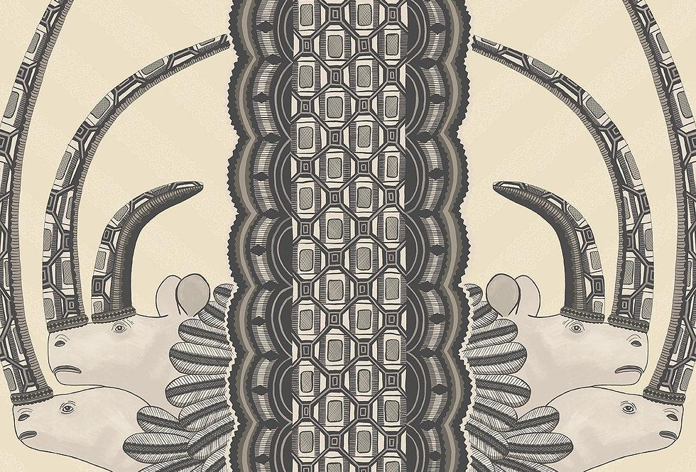 Cole & Son - Ardmore Jabu Black White 109/3014