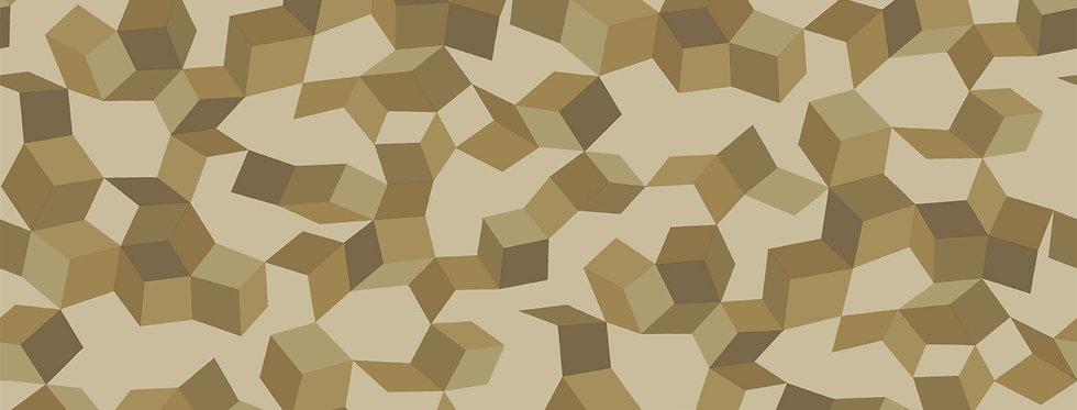 Cole & Son - Curio Ingot Buff & Gold 107/5023