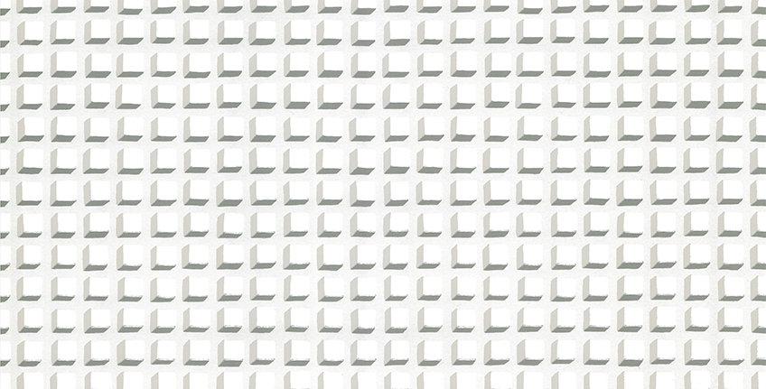 Cole & Son - Geometric II Mosaic White & White 105/3015