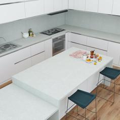 Quartz Kitchen Worktops Sheffield