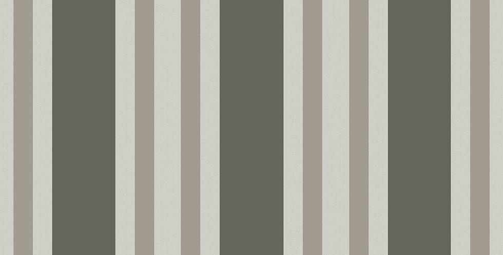 Cole & Son - Marquee Stripes Polo Stripe Black & White 110/1001