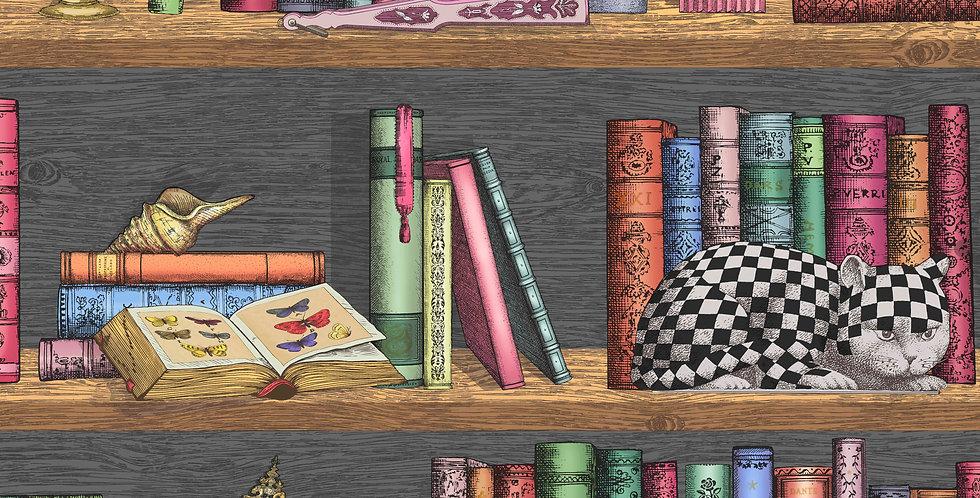 Cole & Son - Fornasetti Senza Tempo Libreria Rich Multi 114/13025