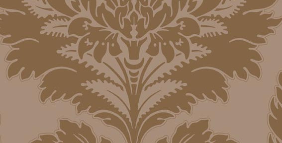 Cole & Son - Archive Traditional Hovingham Brown & Gold 88/2006