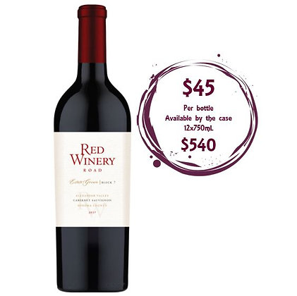 Red Winery Road Alexander Valley Cabernet Sauvignon 2017