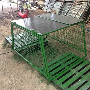 Mule cages designed and built to order