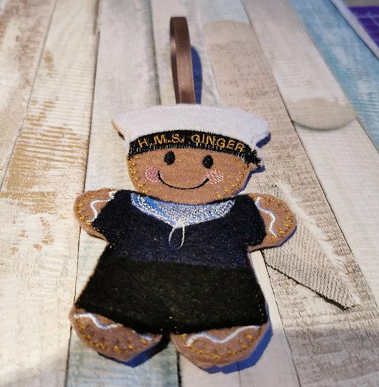 Sailor Gingerbreadman